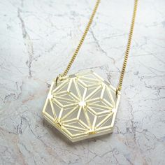 Gold Octa Necklace