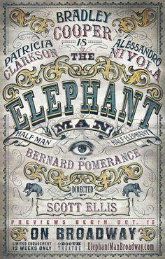 Two-time Academy Award® nominee Bradley Cooper (American Hustle, Silver Linings Playbook) returns to #Broadway in Bernard Pomerance's Tony Award®-winning classic The Elephant Man.