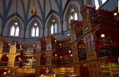 The Beast's library in the real world...