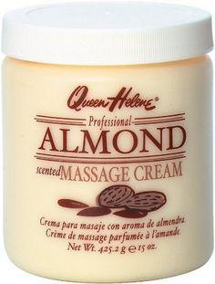 QUEEN HELENE Almond Scented Massage Cream 15 oz [079896653867]