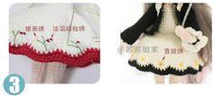 Leithygurumi: Narin Bebek - Türkçe - Ücretsiz - Amigurumi Doll - Free Pattern Doll Patterns Free, Baby Knitting Patterns, Amigurumi Patterns, Free Pattern, Crochet Doll Clothes, Crochet Dolls, Crochet Baby, Amigurumi Doll, Winter Hats