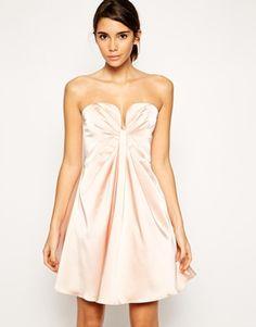 Enlarge ASOS Twist Plunge Bandeau Dress