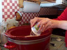 Slow cooker yogurt