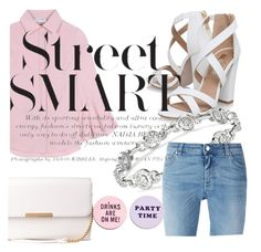 """Street style"" by princesselaura on Polyvore featuring Valentino, Miss KG, Givenchy and ban.do"