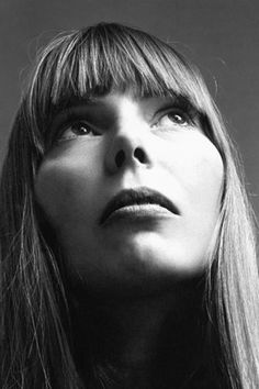 Joni Mitchell, 1969. Photo by Jack Robinson.