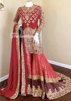 Pakistani Bridal Couture, Pakistani Wedding Outfits, Bridal Outfits, Bridal Lehenga, Pakistani Dresses, Wedding Dresses, Bridal Dress Design, Bridal Style, Embroidery Suits