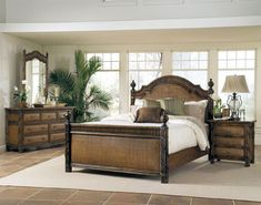 Get A Unique Look In Your Bedroom With Wicker Furniture Tropical