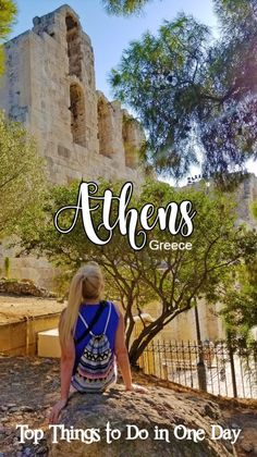 Here's how to spend one day in Athens - a spectacular 3,400-year-old city known as the cradle of Western civilization and birthplace of democracy.  #athens #boomersinGreece #boomertravel #babyboomertravel