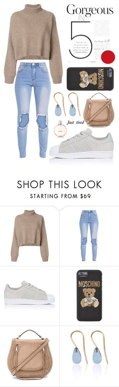 """My style"" by keren300 ❤ liked on Polyvore featuring Rejina Pyo, adidas, Moschino, Rebecca Minkoff, Love Is and Chanel"