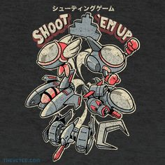 Shoot 'em up By Adam, today at The Yetee!