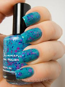 Totally tubular by #kbshimmer :manicurator: KBShimmer Summer 2013 nail polish Collection Swatch and Review