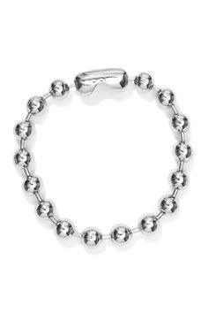 Weekday Ballchain Bracelet in Silver