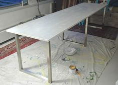 Easy DIY Desk With Ikea Table Tops and Legs