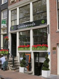 Greenwoods English Tea Room & Restaurant – We stopped in for lunch and had the steak sandwich with garlic butter and fries (the special that day) and the lamb burger with blue cheese, bacon, and caramelized onions. Follow the link to find more good places to eat at in Amsterdam.   http://mikestravelguide.com/where-to-eat-in-amsterdam-near-het-grachtenhuis-museum/