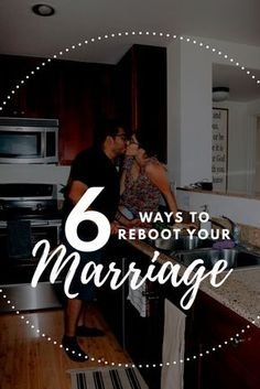 Need to reboot your marriage? Check out these 6 simple ways to reboot your marriage today! The best ways to reboot your marriage when you feel like giving up.