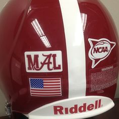 Mal Moore Decal - Crimson Tide will honor Mal Moore 2013 Season with special decal.  Roll Tide! Thanks Coach Moore for all you did!