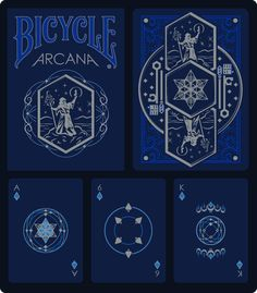 Bicycle® Arcana Playing Cards by Colton Marshall — Kickstarter.  A limited-edition, magically-themed Bicycle playing card deck printed by USPCC. Designed by Colton Marshall.