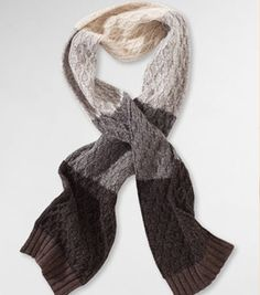 great colors for a man-scarf