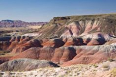 chinleformation badlands painted desert