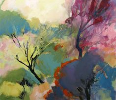 Fyn bos painting by Jenny parsons at Dorpstraat Galery Abstract Landscape, Landscape Paintings, Abstract Art, Urban Landscape, Art Beat, South African Art, Painting Courses, Contemporary African Art, Artist Sketchbook