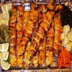 Afghan Chicken Kebabs