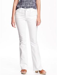 Mid-Rise Flared Jeans for Women | Old Navy
