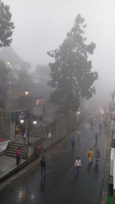 Monsoon over Shimla India City Aesthetic, Nature Aesthetic, Perspective Art, India Tour, Shimla, Tourist Places, Beautiful Places To Travel, India Travel, Adventure Awaits