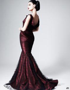 Nuevos vestidos de moda   Colección Zac Posen