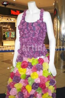 Vestidos con Material Reciclado, Moda y Diseño Ecoresponsable, IVParte