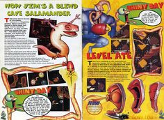 Earthworm Jim Collected Images - Earthworm Jim Fan Site!