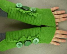 Fingerless mittens arm warmers fingerless gloves arm by piabarile