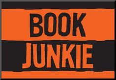 Book Junkie Art Poster Print Poster