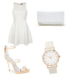 """""""Untitled #30"""" by oommgg03 ❤ liked on Polyvore featuring Giuseppe Zanotti, Ally Fashion and GUESS"""