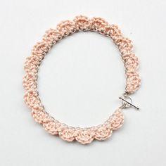 #necklace #crochet #chain