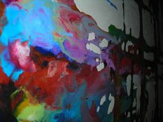 "Detail painting ""illusive""Mike Dendinger  Mpdesignart"