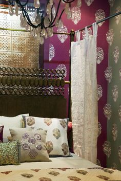 INSPIRED BY THE MUGHAL CHARBAGH, now a metaphor for Paradise Garden, Good Earth Charbagh interiors have a distinct signature based on the principles of symmetry, abundance, beauty and luxury. French Home Decor, Elegant Home Decor, Diy Home Decor, Indian Architecture, Indian Homes, Office Interiors, Decor Styles, Paradise Garden, Design Inspiration