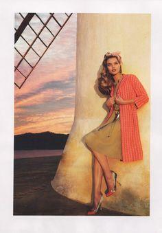 #NataliaVodianova by Mert & Marcus #VogueUS 2004