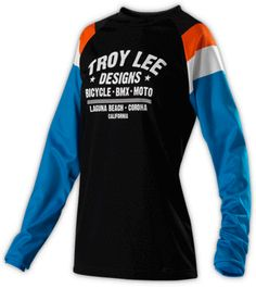 Rev Jersey- Black by Troy Lee Designs Dirty Jane Women's Mountain Bike Apparel