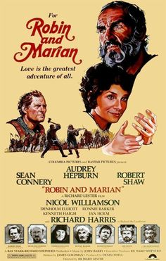Robin And Marian (1976) - Sean Connery, Audrey Hepburn, Robert Shaw, Richard Harris