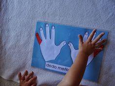 Montessori Mar del Sur: Direcciones y mano derecha, mano izquierda