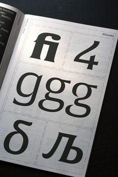 """Gerard Unger's Alverata featured in the booklet 'Contemporary Typefaces, included in Slanted magazine 24, devoted to Istanbul's type and design scene. You can order a copy of the magazine here <a href=""""http://www.slanted.de/shop/slanted-24-istanbul"""" rel=""""nofollow"""">www.slanted.de/shop/slanted-24-istanbul</a>"""