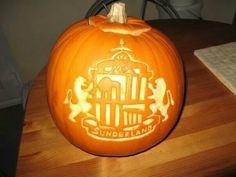 Halloween Pumpkin Sunderland Afc, Halloween Pumpkins, Pumpkin Carving, The Good Place, Halloween Gourds, Pumpkin Carvings