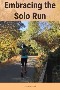 More runners than ever are embracing the solo run. There are benefits to running alone (no waiting for that one runner who is always late!), and ways to make them fun and productive. Click to the blog for the benefits and techniques of the solo run Running Form, Running Race, Trail Running, Running Routine, Running Workouts, Running Tips, Training Plan, Interval Training, Marathon Training