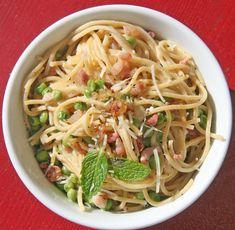 Healthier Spaghetti Carbonara: a healthier spaghetti carbonara in the comfort of your own kitchen.