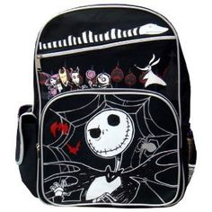 Amazon.com: The Nightmare Before Christmas Large Backpack: Clothing