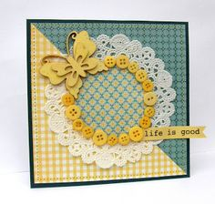SIMPLY MADE: {my card is on tv}