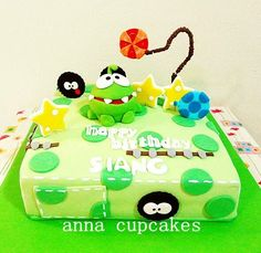 The cut the rope cake