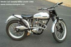 1967 Triumph Cub | Cub Sammy Miller Trials Année 1966 (chrome & noire) (01)