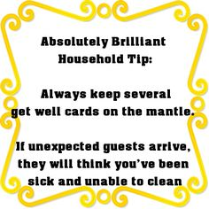 Brilliant #household_tip! LOL...