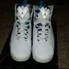 promo code 5af36 22708 Jordan Shoes   Rare Jordan True Flight   Color  Blue White   Size  7